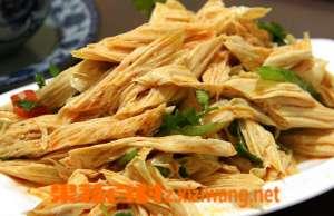 腐竹的功效与作用及食用方法